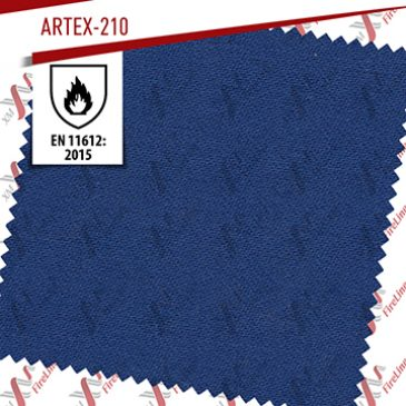 Artex-210 updates EN ISO 11612 to version: 2015